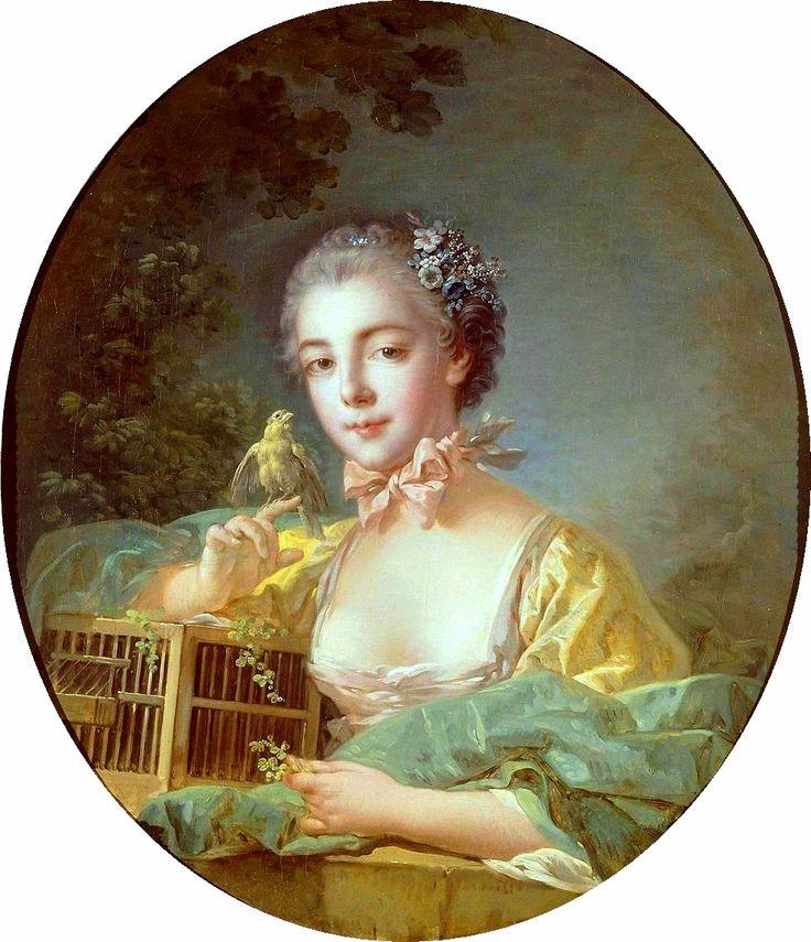 The Athenaeum - Portrait of Madame Baudouin (Francois Boucher - )