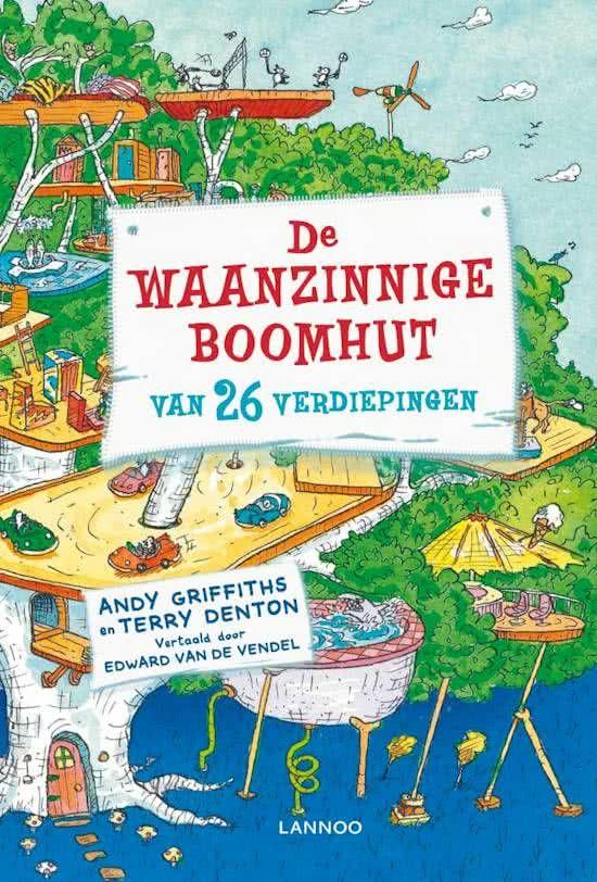 Boek cover De waanzinnige boomhut 2 - De waanzinnige boomhut van 26 verdiepingen van Andy Griffiths