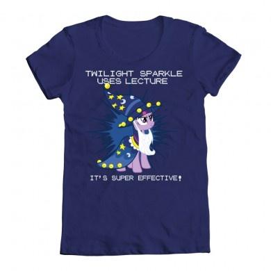 Twilight Sparkle uses lecture! It's super effective!
