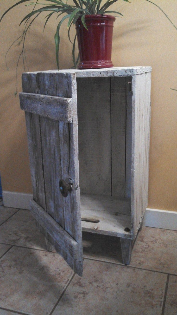 Best 25 wooden crates ideas on pinterest crate shelves for Where can i buy wooden milk crates