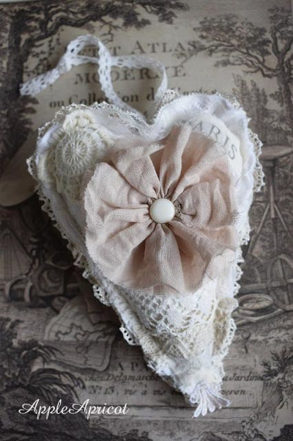 lace heart by AppleApricot