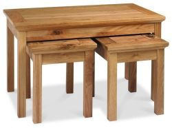 Provence Oak Nest of Coffee Tables http://solidwoodfurniture.co/product-details-oak-furnitures-4049--provence-oak-nest-of-coffee-tables.html