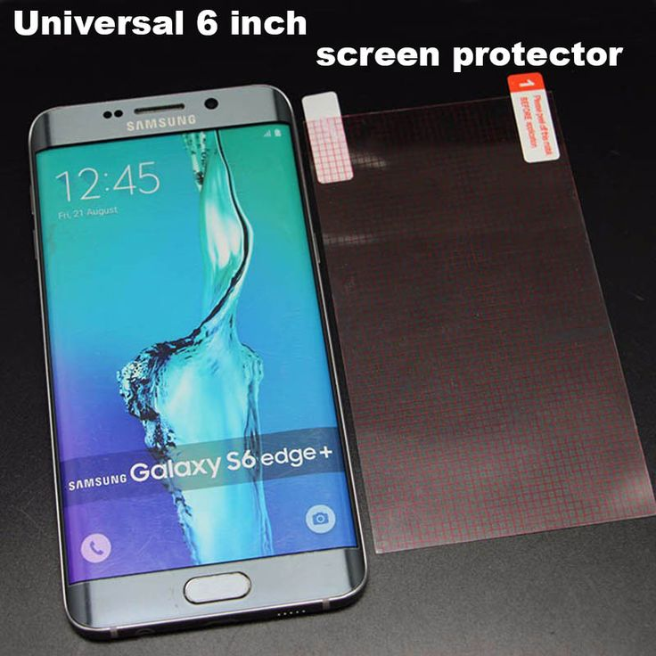 10pcs/lot 128x72MM Universal 6'' Clear Screen Protector GuardScreen Protective Film for 6 inch mobile phone Tablet GPS MP4 MID #Affiliate