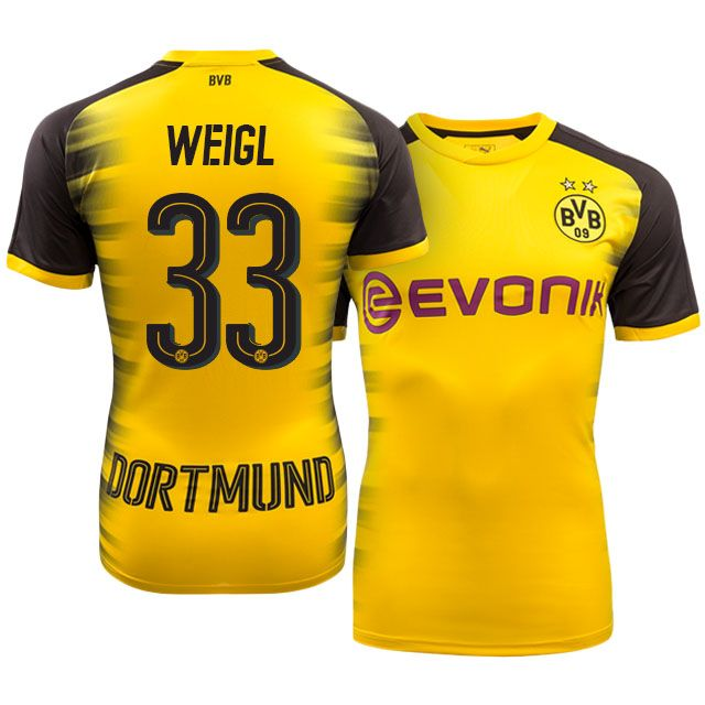 Borussia Dortmund Champions League Kit 17-18 weigl