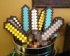 7th minecraft birthday party invitations boy - Google Search