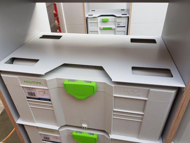 Festool Van Racking system for T-Loc Systainer Sys 1-5 | eBay