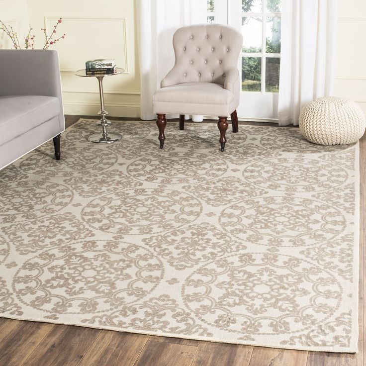 Charing Cross Hand Loomed NaturalTaupe Area Rug 19