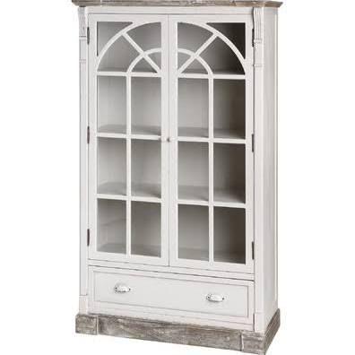 New England 13418 Lyon Range -Glazed Display Cabinet