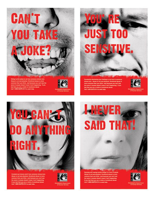 signs of emotional abuse    Give Them A Voice is an advocacy foundation. www.noworkingtitle.org