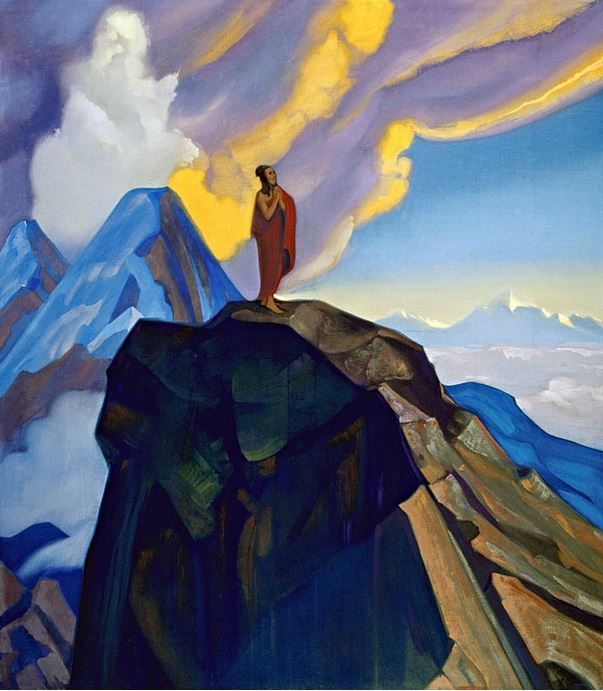 Святослав Рерих. Духовное искусство. Подвиг. 137х122 Холст, темпера. 1938 Svetoslav Roerich