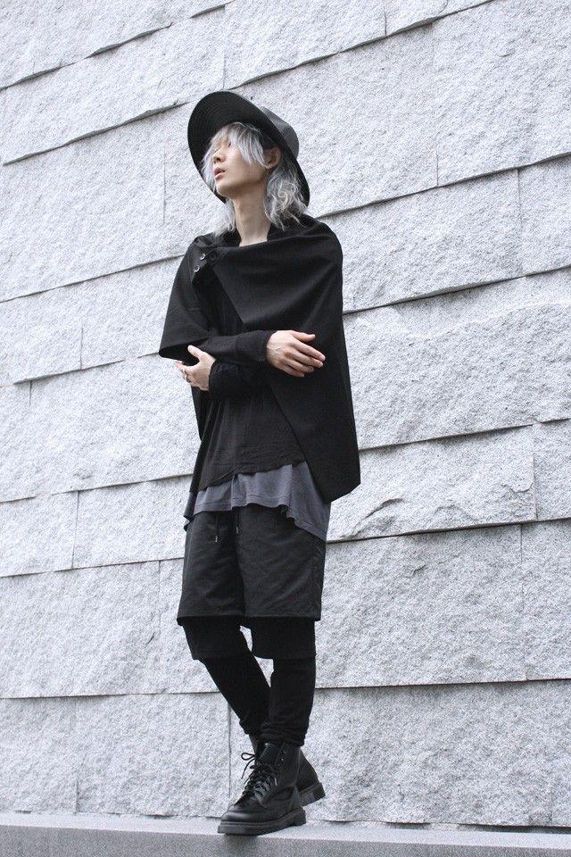 【albino】ポンチョアレンジロングフラップスカート - メンズスカートなどモード系ファッションの通販 albino