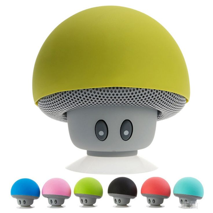 Colorful Mushroom Wireless Bluetooth USB
