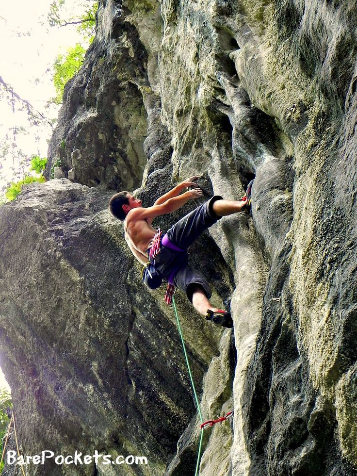 Climbing at Surplomba sector - Baile Herculane (2)