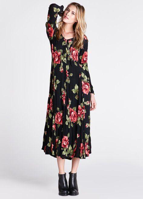 90's Rosemary Maxi Dress