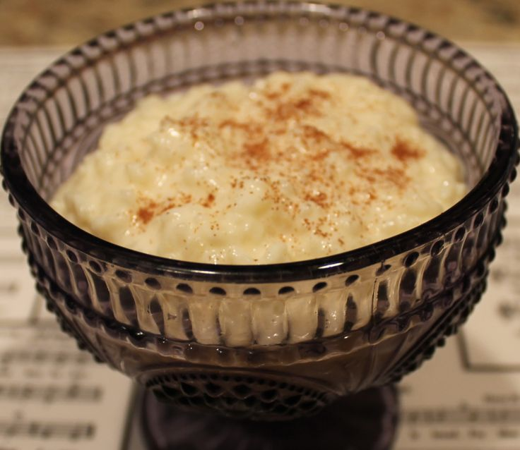 how to cook rice pudding on the stove