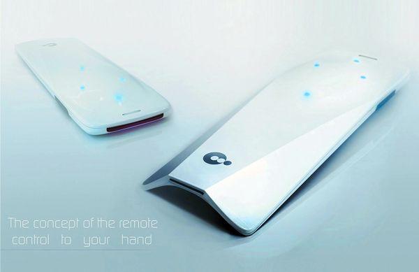 remote control by Pavlik Kotenev, via Behance