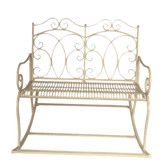 Found it at Wayfair.co.uk - Old Rectory Steel Rocking Bench