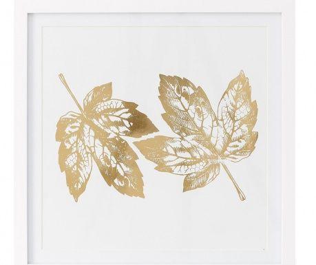 Golden Leaves Kép 40x40 cm