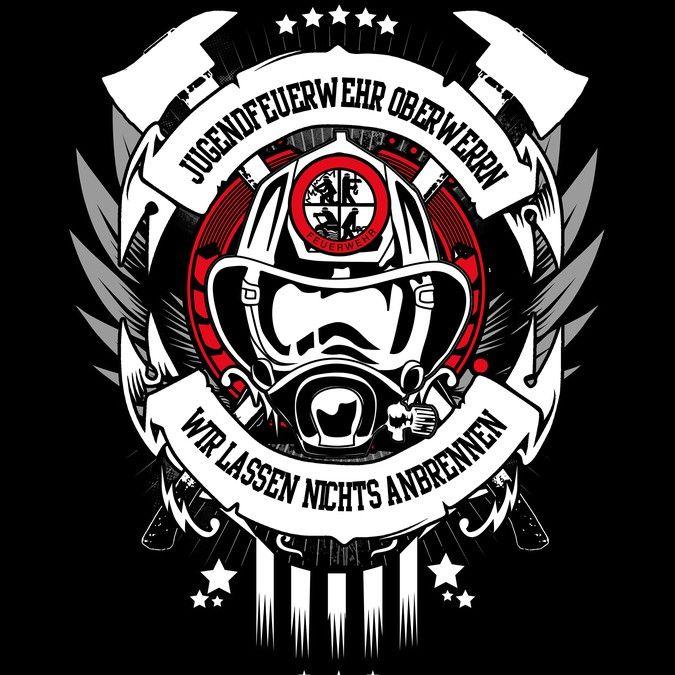 T-Shirt f眉r Jugendfeuerwehr by Blackhordes