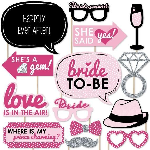 Hen Night Photo Booth Props Hen Party Photo Booth Items