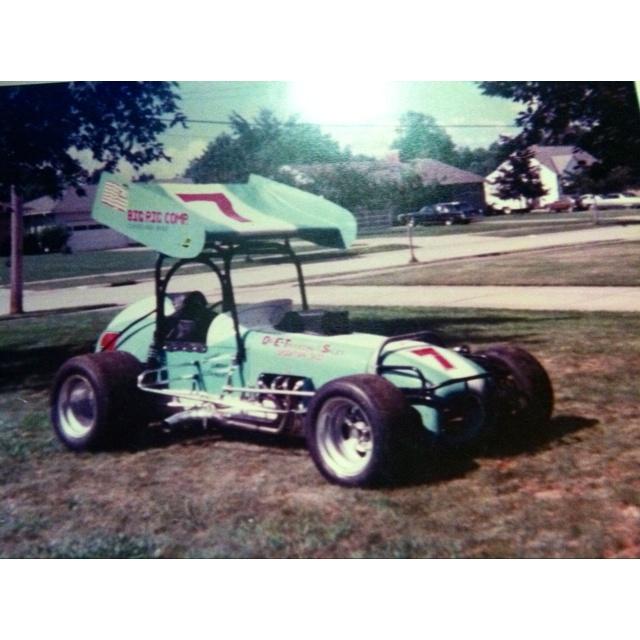 287 Best Vintage Sprint Cars Images On Pinterest