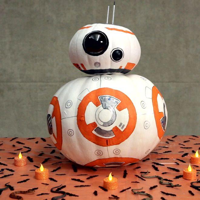 BB 8 Inspired Pumpkin – Video