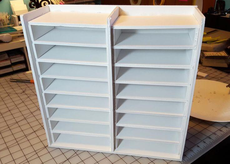 sturdier & easier ink pad storage unit