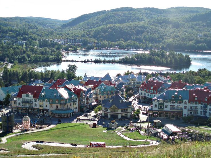 "Mont-Tremblant is literally a mountain village enclave in one of the most ""beautifulest"" spot in the province of Quebec, it lies due North of the Canada's capital city of Ottawa.Its gives you that European feeling. http://www.farawayvacationrentals.com/view-blog/Canadian-Secret/1071"