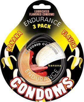 Taste the difference a little flavor adds with the Endurance Flavored Condom 3…