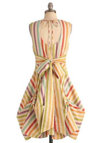 Here in My Carnival Dress, #ModCloth