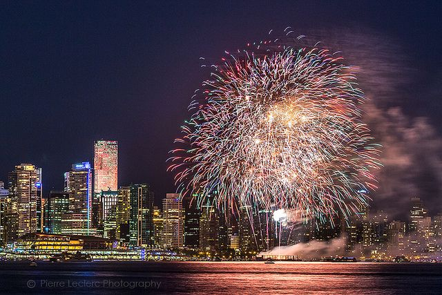 Canada Day Fireworks, Vancouver 2013 | pierre leclerc | Flickr