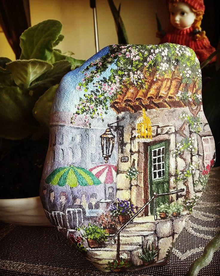 #tassusleme #tasboyama #sanat#stoneart #art#stone #susleme #hobi