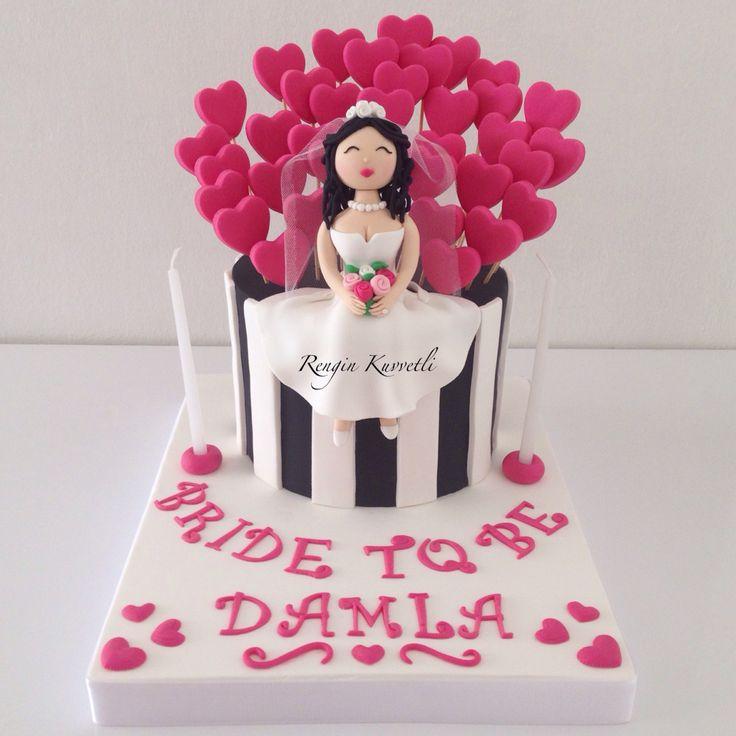 Bekarlığa Veda Pastası - Bride to be Cake
