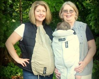 Maternity coat extender / babywearing cover Combo for by extendher