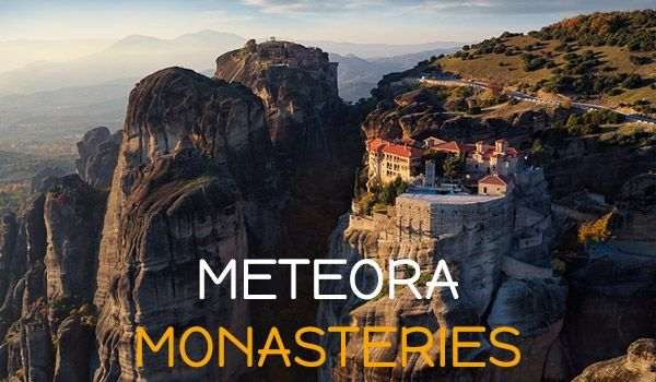 A trip to Meteora offers the unique experience of nature's grandeur in conjunction with a man's desire to connect with the Divine.
