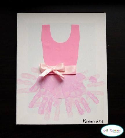 Ballet craft.. would be cute to give as a thank you to her teacher