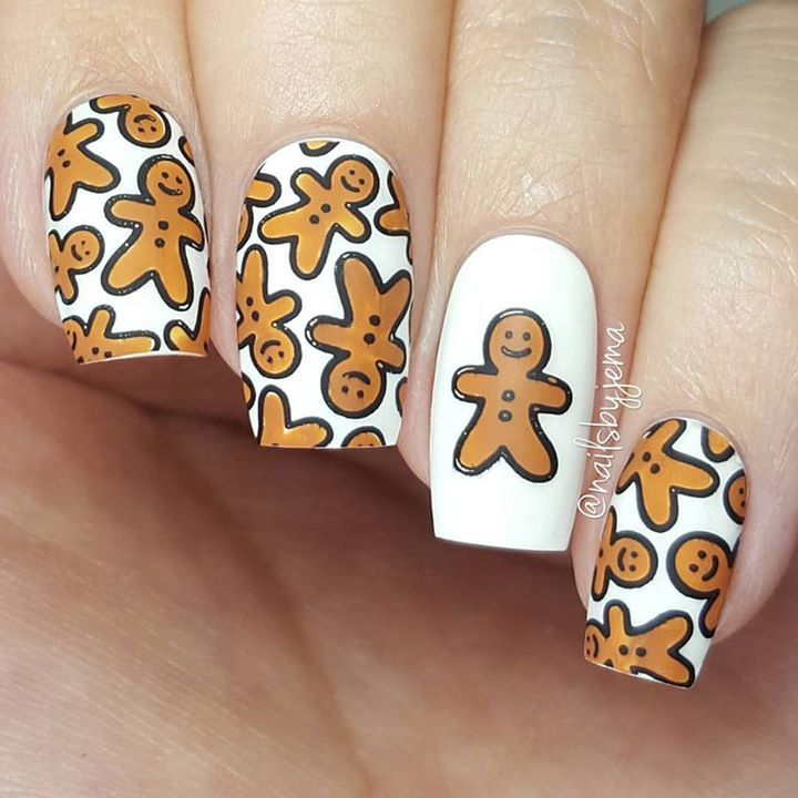 Christmas Nail Art Tutorial Gingerbread Galore: 1000+ Ideas About Sun Nails On Pinterest