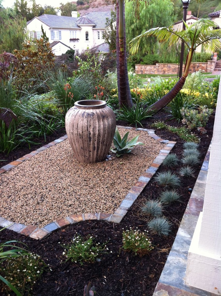 22 best grassless landscaping images on Pinterest ... on Grassless Garden Ideas id=67373