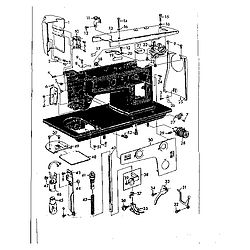 Model # 14814220 KENMORE Mechanical Sewing Machine Parts