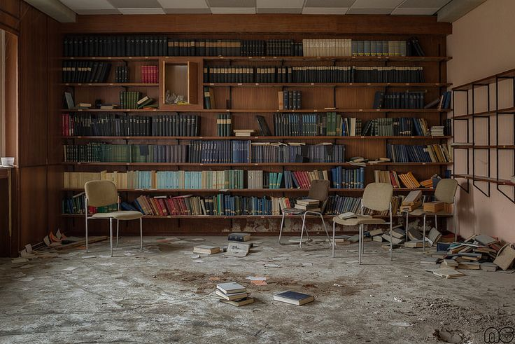 Biblioteca abandonada !!!!