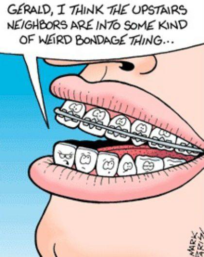 Braces humor! #FrandsendDental