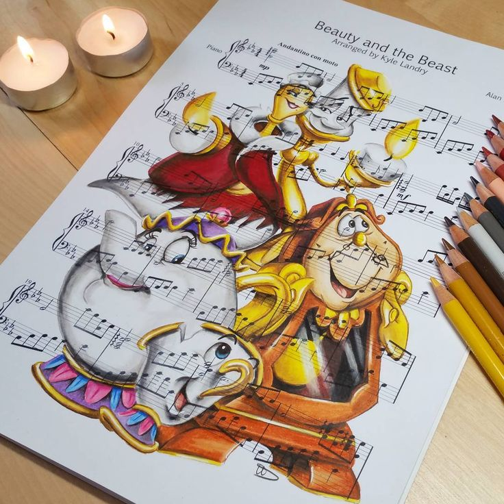Beauty And The Beast Sheet Music With Lyrics: 823 Best Images About Disney Is My LIFE On Pinterest