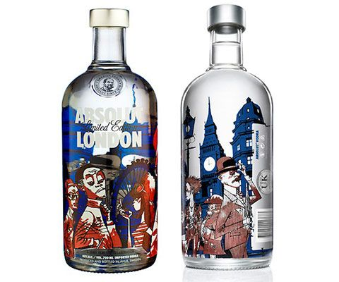 New Absolut Vodka Design