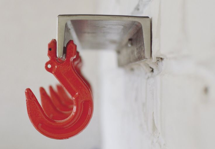 Полка для прихожей лофт с крючками
