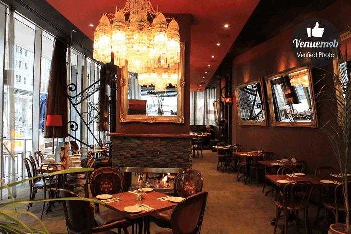 Back Dining Room at World Restaurant, Melbourne.    http://venuemob.com.au/space/back-dining-room-at-world-bar-and-restaurant
