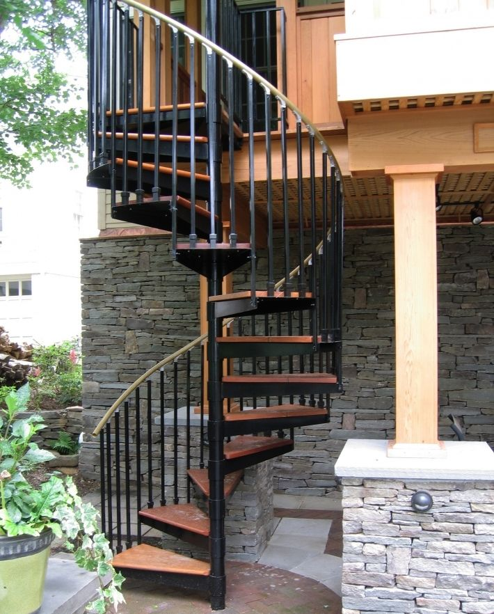 12 best spiral staircase pros and cons images on - Exterior metal spiral staircase cost ...