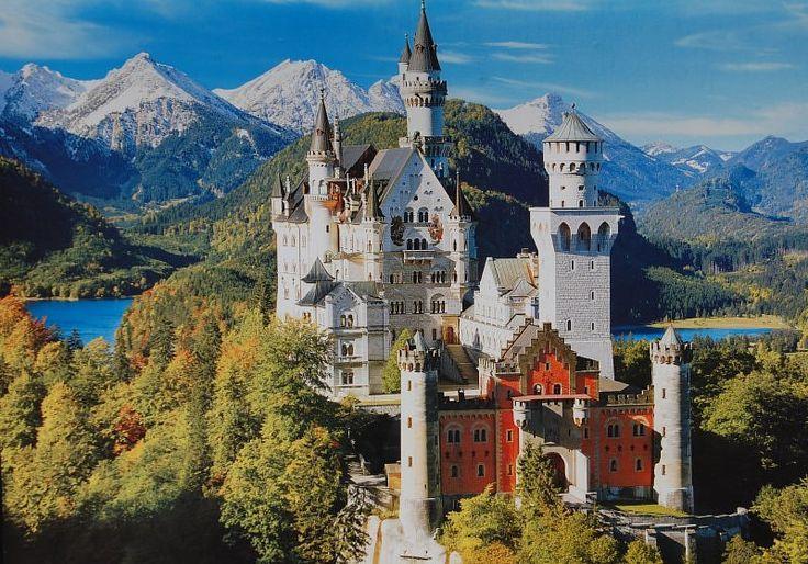 Zamek Neuschwanstein - Szukaj w Google