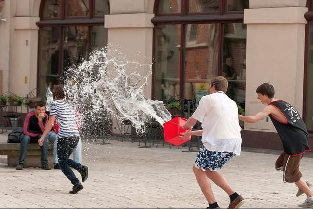 Wet Monday in Poland is Known as Śmigus-Dyngus Day: Śmigus-Dyngus Water Dousing