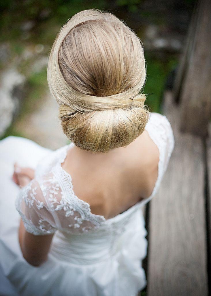 Best 25+ Wedding hair buns ideas on Pinterest | Bridal ...
