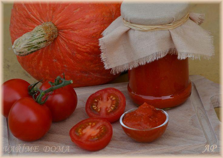 Kečup z rajčat, dýně a červené řepy